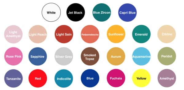Geomifx Coloured Putty comes in a range of colours and can be fully customised by the technicians at Sylmasta