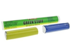 Green Stuff Stick is a modelling putty in stick format from Sylmasta used for creating and adding fine details