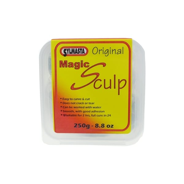 Magic Sculp is a modelling epoxy putty used by sculptors and model makers