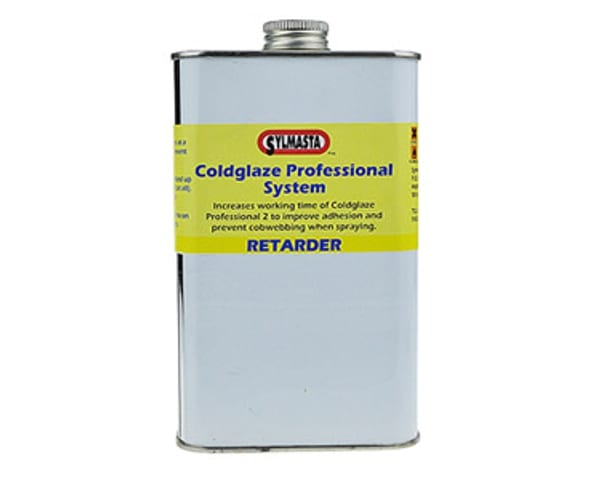 Coldglaze PRO 2 Retarder is used as part of the Sylmasta Coldglaze System to improve adhesion and prevent cobwebbing as part of the glazing process
