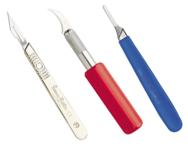 The Swann-Morton range of precision blades, handles and scalpels are used by professional craft and model makers around the world
