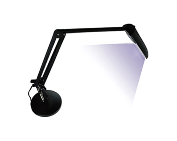 The 11W UV Lamp is a fully flexible lamp with a sturdy base for the curing of Sylmasta UV Glass Adhesives