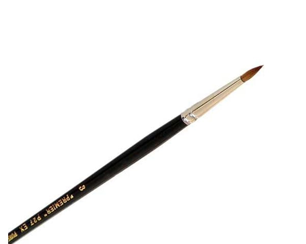 Premier P27EX is a sable hair paint brush used for spotting in model making and fine art tasks