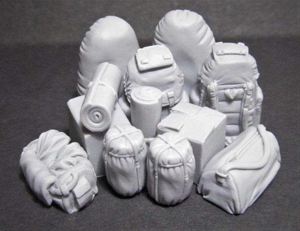Magic Sculp epoxy modelling putty is used for building accessories in bulk