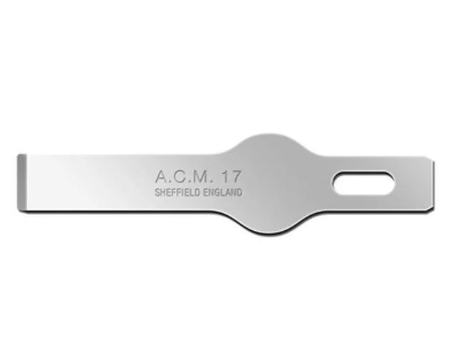 Swann-Morton ACM No.16 Blade is used for chiselling lightweight materials